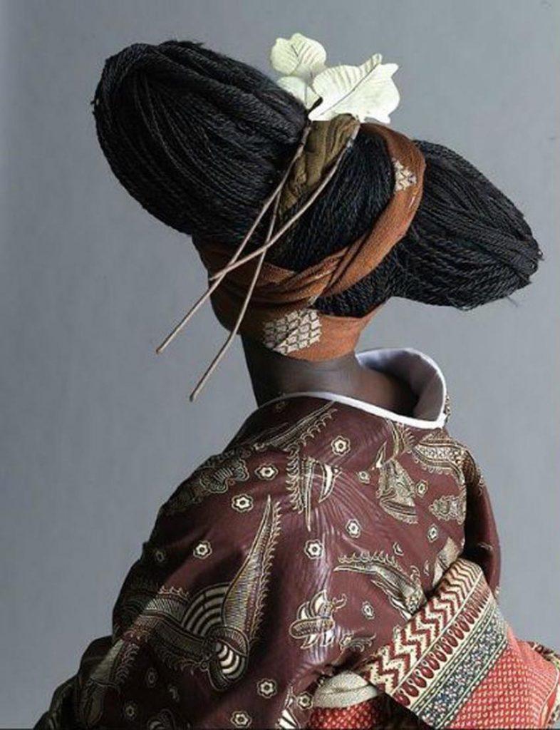 Der afrikanische Kimono