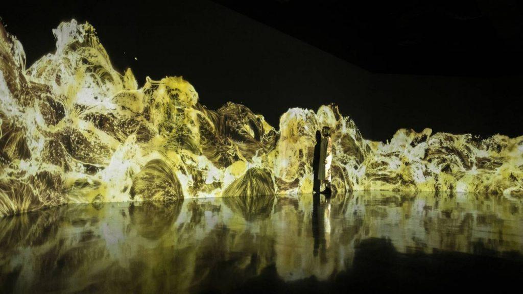Das digitale Kunstmuseum in Tokyo