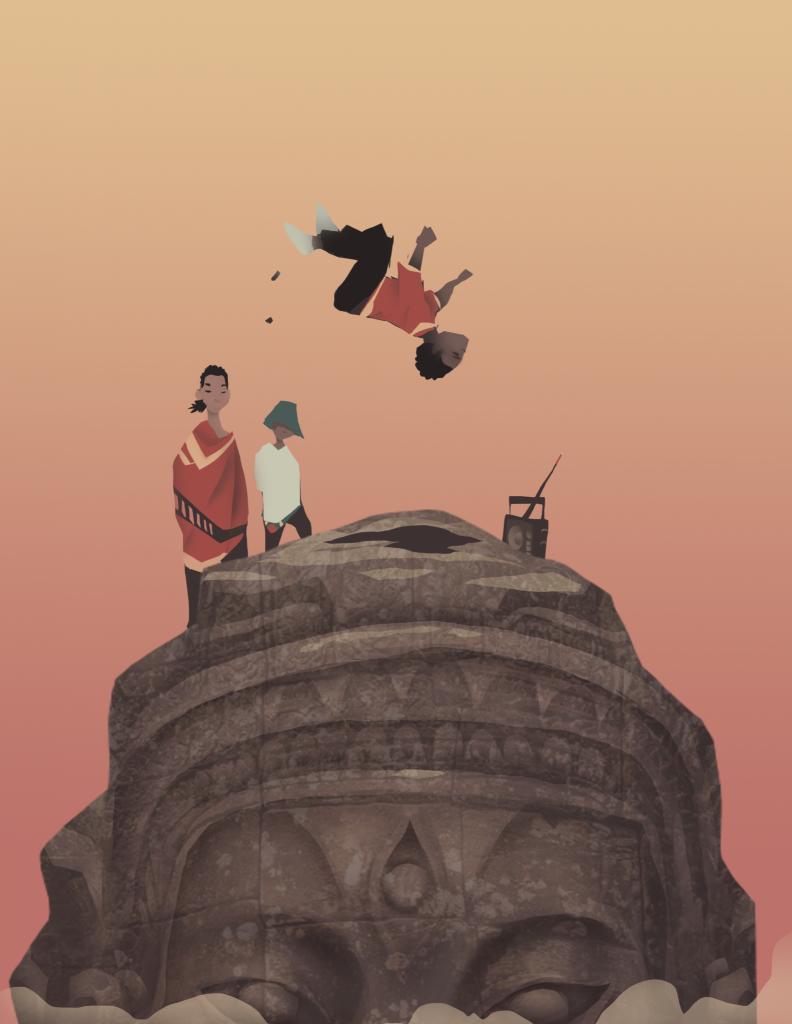 Illustrationen von Kenny Kong - Eine Hommage an die Hip Hop Kultur