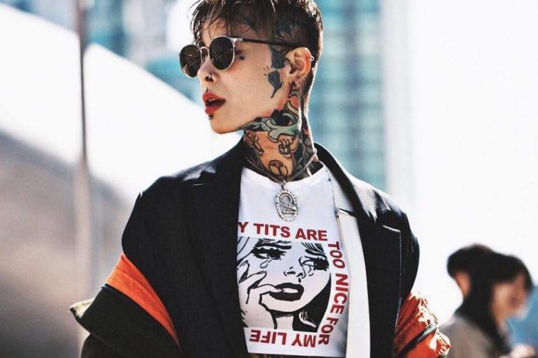 Tattoo-Künstlerin Ember Kim aus Südkorea