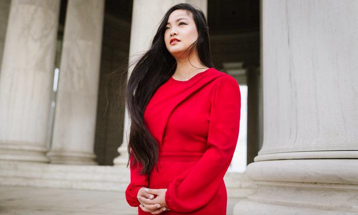 amerikanisch-vietamesische Bürgerrechtlerin Amanda Nguyen