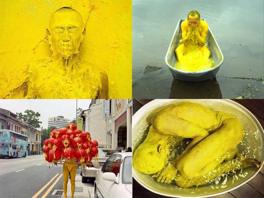 Asiatische Künstler - Lee Wen aus Singapur