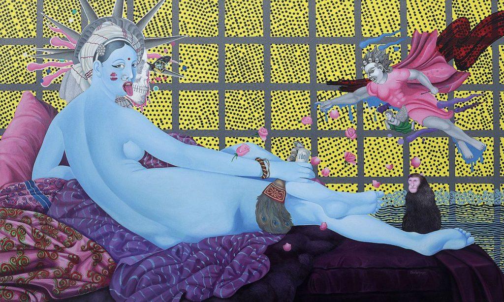 Zeitgenössische Kunst aus Asien - Manish Harijan aus Nepal