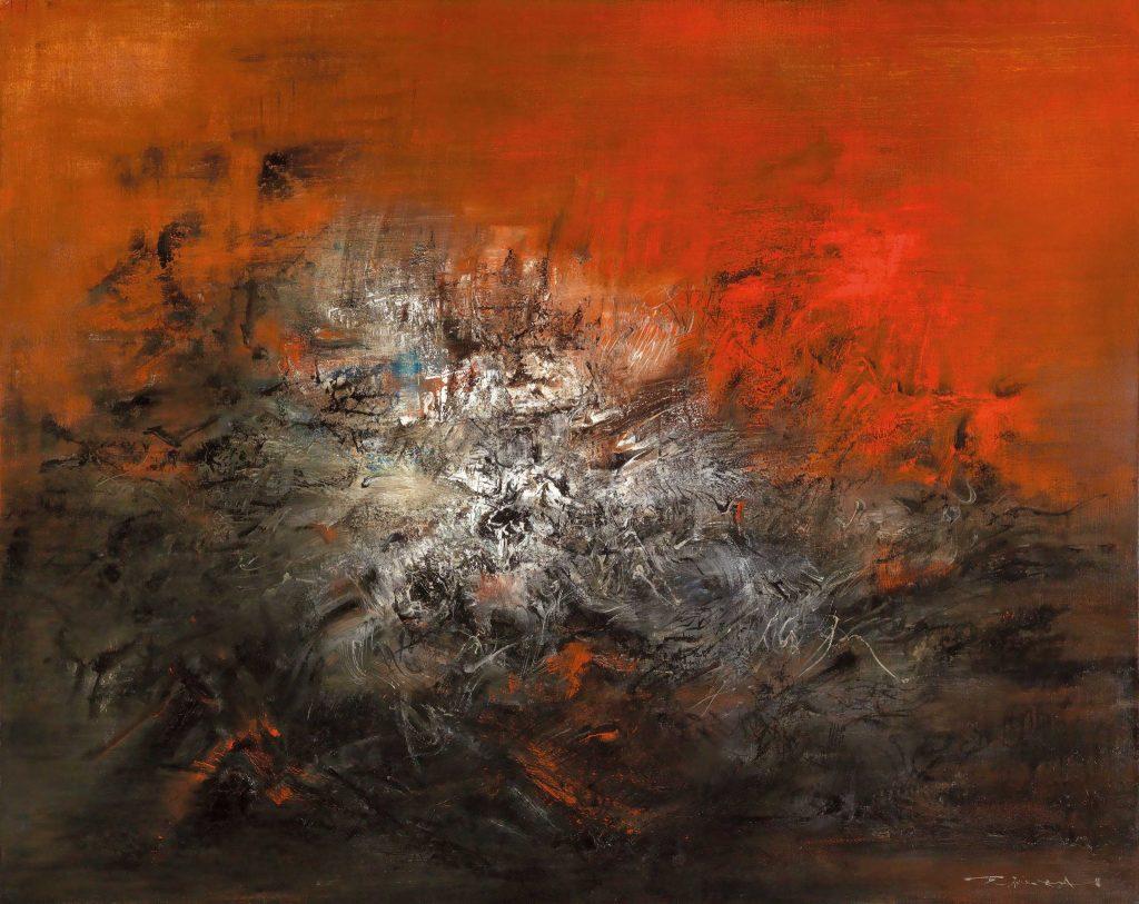 Zeitgenössische Kunst aus Asien - Zao Wou Ki aus China