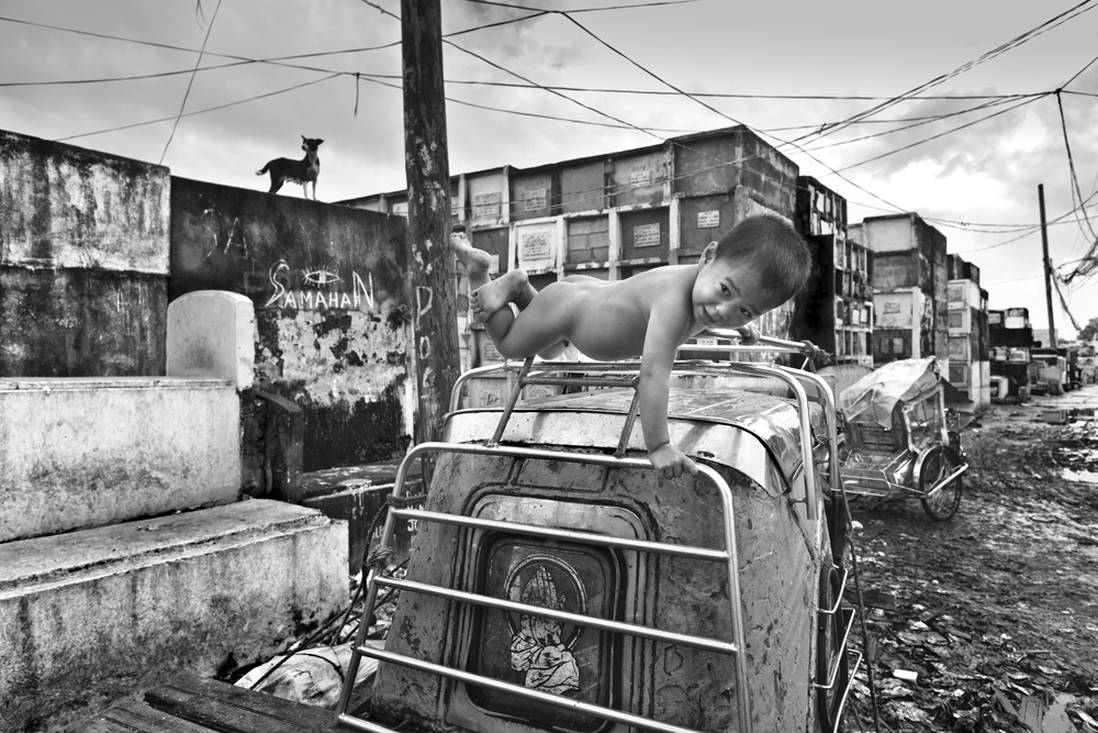 Alltag in den Slums von Manila
