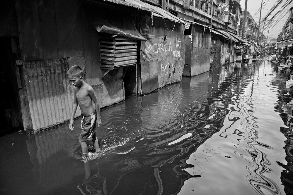 Leben in Tondo, dem größten Slum von Manila
