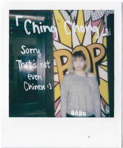 Fotoprojekt - Alltagsrassismus gegenüber Asiaten