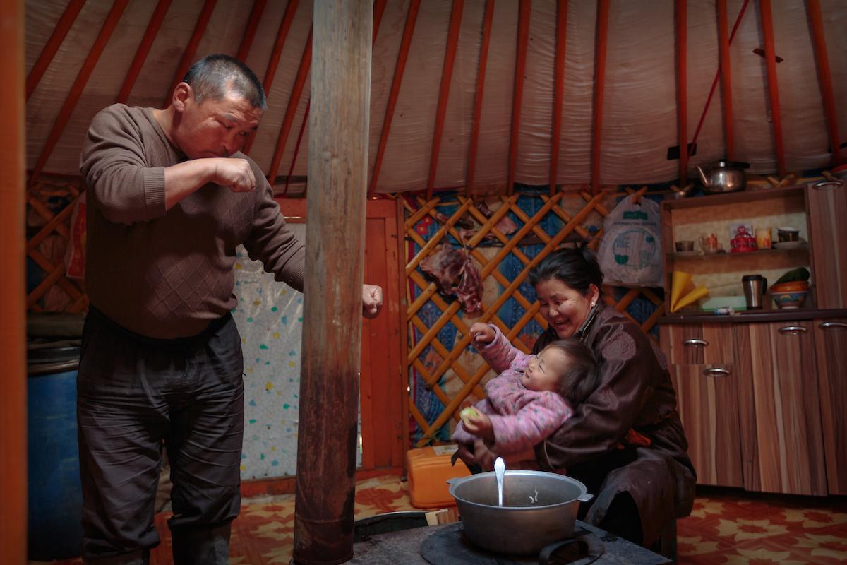 Fotograf Gavin Gough über sein Zusammenleben mit mongolischen Nomaden