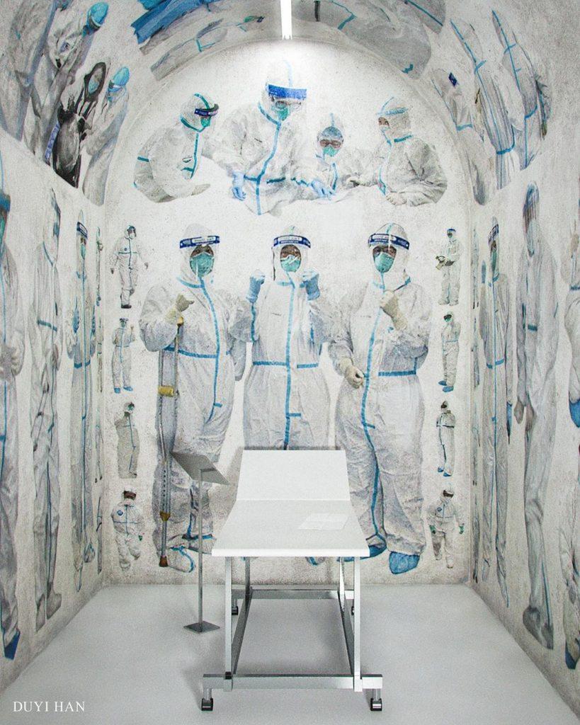 Von der Pandemie inspiriert: Asiatische Künstler in der Corona-Krise