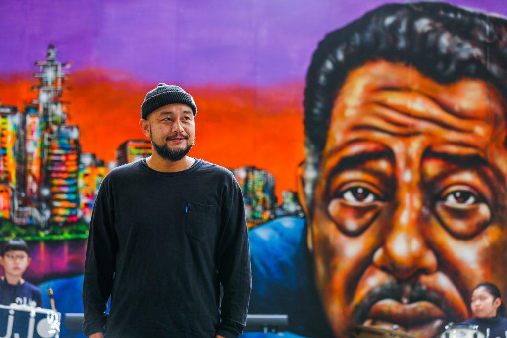 Novol - Japanischer Street Art Künstler ehrt Jazz-Legende Duke Ellington