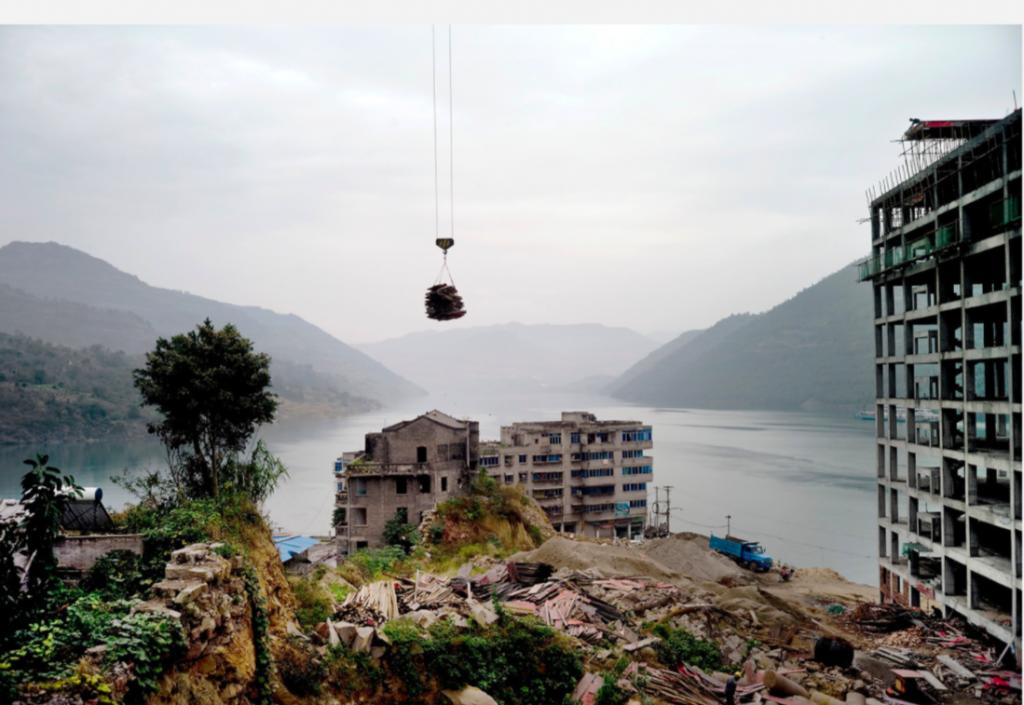 Die rapide Urbanisierung in China ist ein zentrales Thema in den Bildern von Hai Zhang