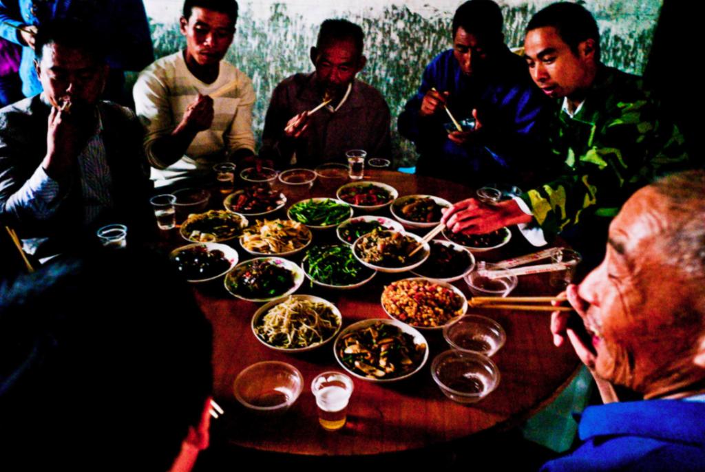 Im ländlichen China wird die Gemeinschaft groß geschrieben