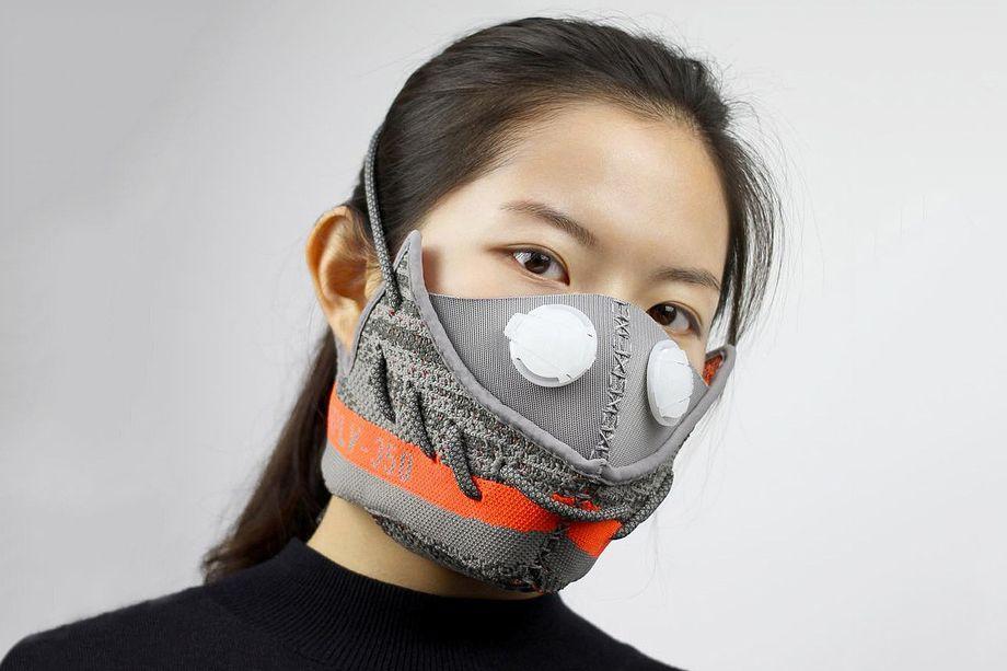 Sneaker Masken von Zhijun Wang - YEEZY