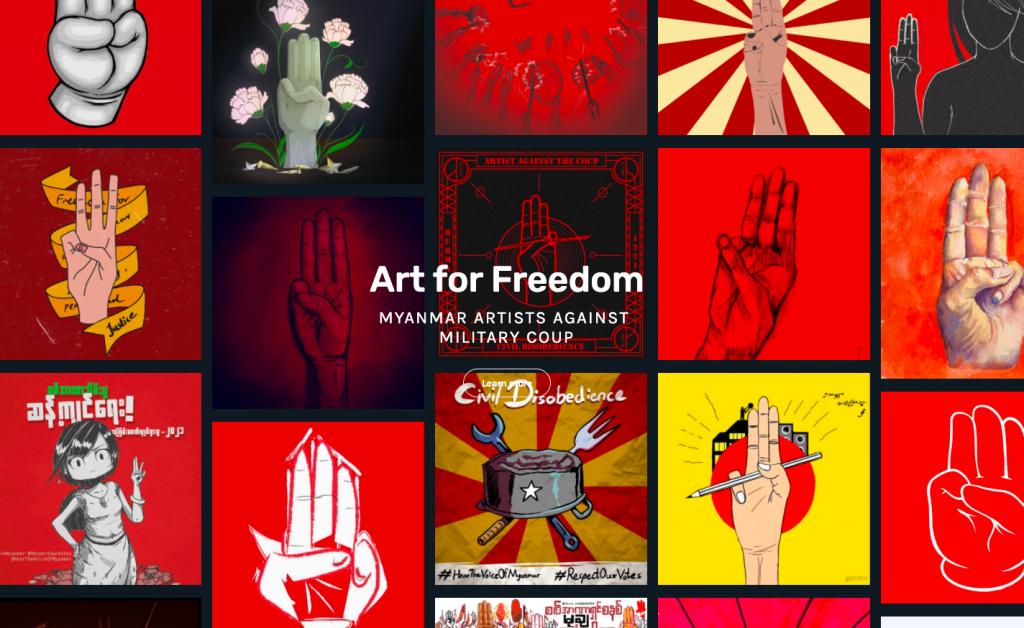 Künstlerkollektiv im Kampf gegen das Militärregime in Myanmar