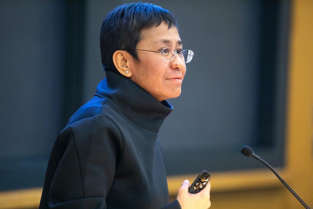 Weltfrauentag - 10 inspirierende asiatische Frauen- Maria Ressa